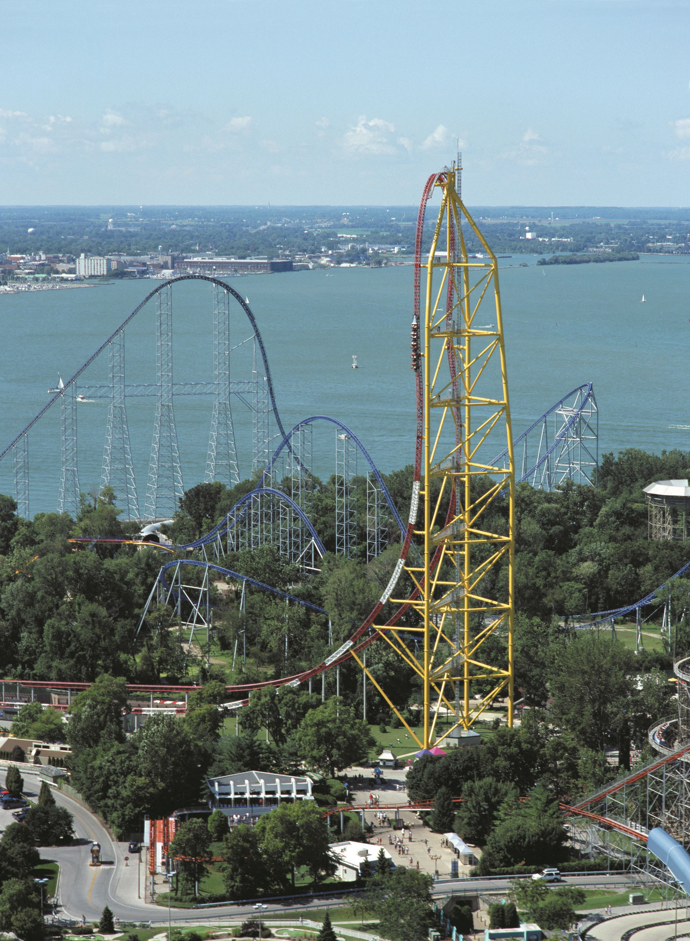Cedar Point close up
