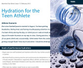 HydrationfortheTeenAthlete