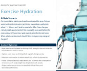 Exercise Hydration